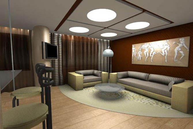 примеры интерьеров двухкомнатной квартиры