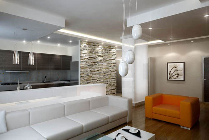 интерьер квартиры небольших квартир