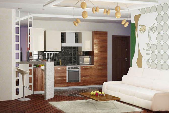 ремонт 2 комнатной квартиры фото: