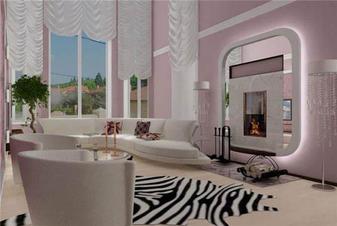 интерьер студии однокомнатной квартиры