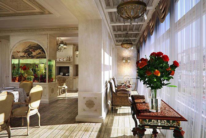 гипсокартон потолки дизайн-квартир холл кухня спальня фото