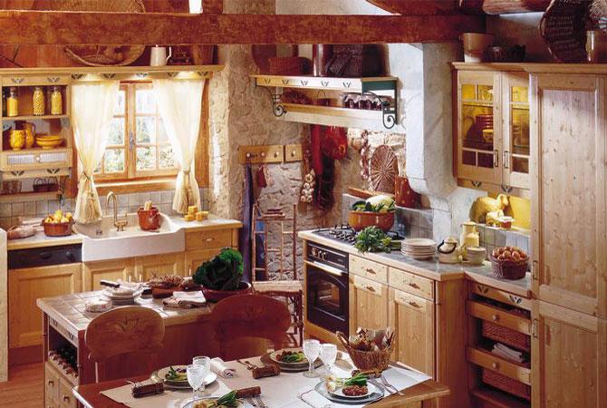 лучшие интерьеры деревянных домов