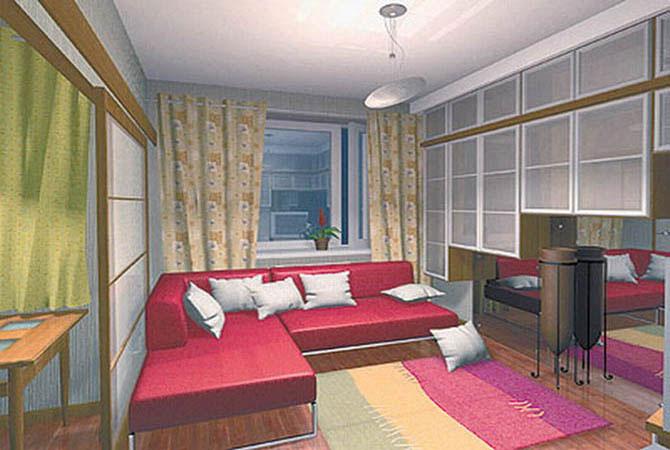 Квартира-трансформер фото, Москва - PG Global Design
