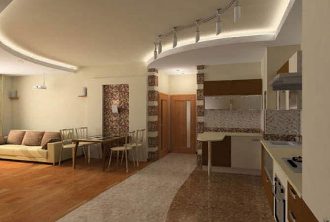 евроремонт дизайн интерьер квартиры